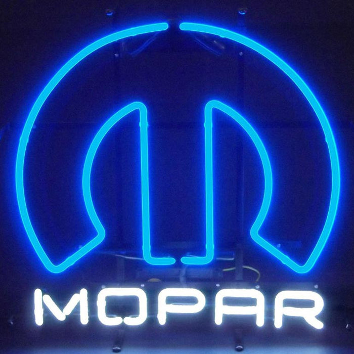 Mopar Omega Neon Sign | Man Cave Authority | 5MPROM