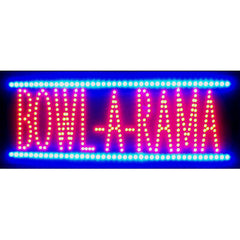 Bowl-a-Rama LED Sign | Man Cave Authority | 5RAMALED