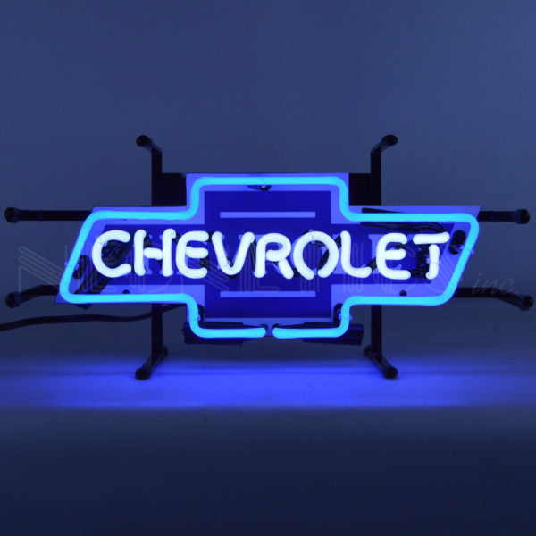 Chevrolet Bowtie Junior Neon Sign | Man Cave Authority | 5SMLCV