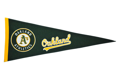 Oakland Athletics Traditions Pennant | Man Cave Decor | 60200