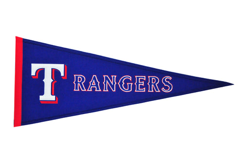 Texas Rangers Traditions Pennant | Man Cave Decor | 60270
