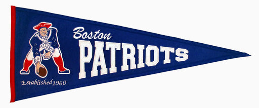 New England Patriots  Throwback Pennant | Man Cave Decor | 61181