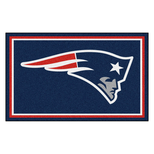 New England Patriots 4x6 Rug | Man Cave Authority | 6268