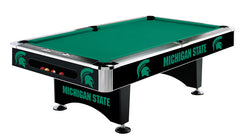 Michigan State 8' Pool Table | Man Cave Authority | IMP 64-4016