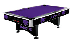 Kansas State University 8' Pool Table | Man Cave Authority | IMP 64-4023