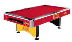 Iowa State University 8' Pool Table | Man Cave Authority | IMP 64-4024
