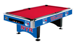 New York Rangers 8' Pool Table | Man Cave Authority | IMP 64-5006