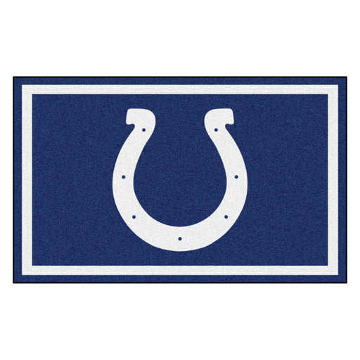 Indianapolis Colts 4x6 Rug | Man Cave Authority | 6581