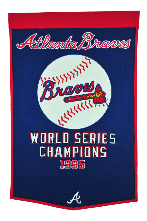Atlanta Braves Banner | Man Cave Decor | 76115