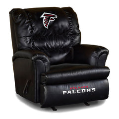 Atlanta Falcons Big Daddy Leather Recliner | Man Cave Authority | IMP 79-1030