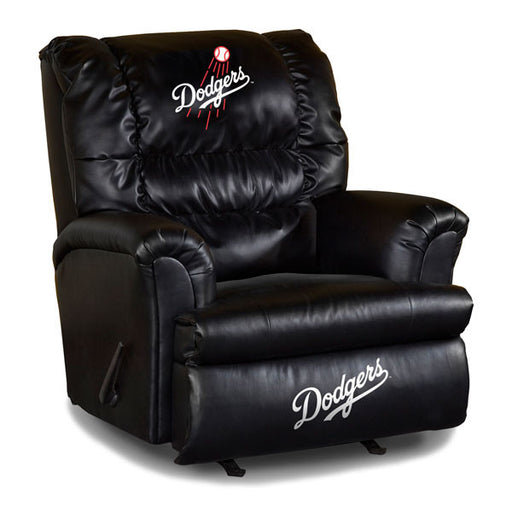 Los Angeles Dodgers Big Daddy Leather Recliner | Man Cave Authority | IMP 79-2026