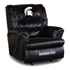 Michigan State Big Daddy Leather Recliner | Man Cave Authority | IMP 79-3016