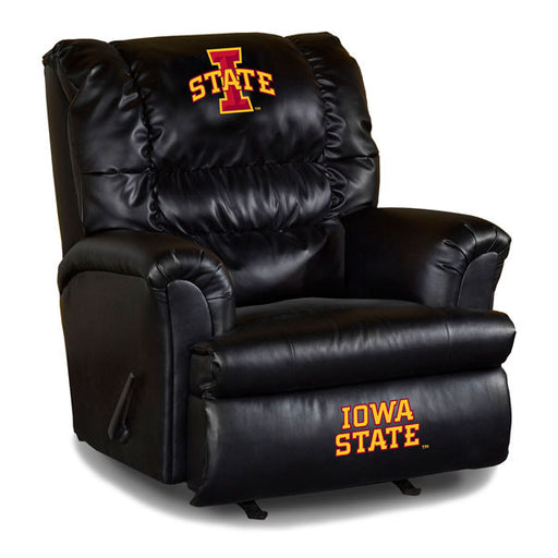 Iowa State University Big Daddy Leather Recliner | Man Cave Authority | IMP 79-3024