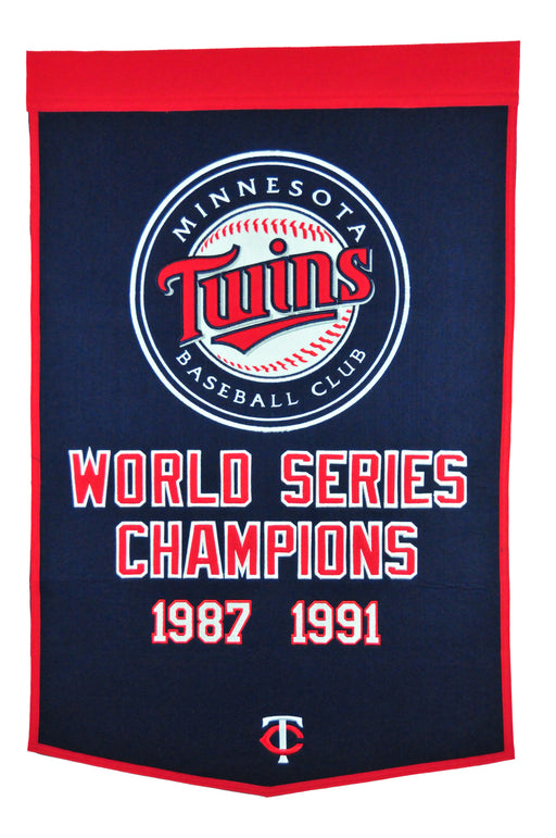 Minnesota Twins Banner | Man Cave Decor | 79000