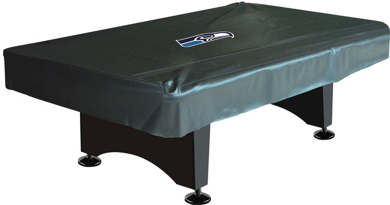 Seattle Seahawks 8' Deluxe Pool Table Cover | Man Cave Authority | IMP 80-1024