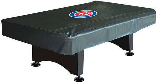 Chicago Cubs 8' Deluxe Pool Table Cover | Man Cave Authority | IMP 80-3005