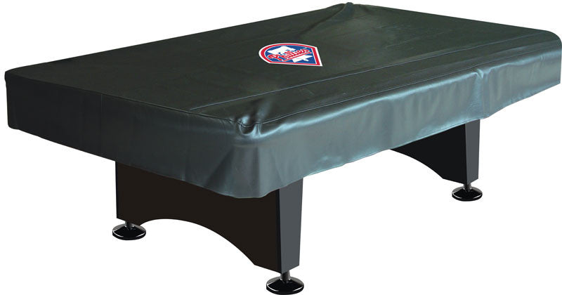 Philadelphia Phillies 8' Deluxe Pool Table Cover | Man Cave Authority | IMP 80-3029