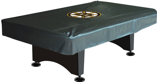 Boston Bruins 8' Deluxe Pool Table Cover | Man Cave Authority | IMP 80-5001