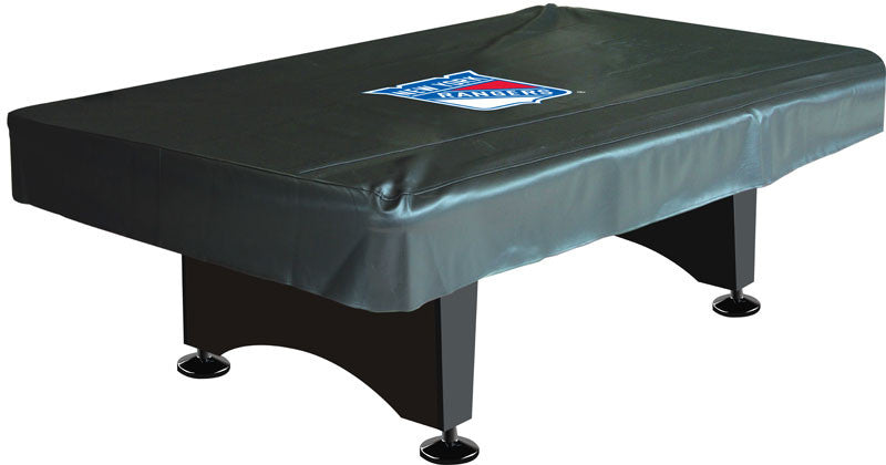 New York Rangers 8' Deluxe Pool Table Cover | Man Cave Authority | IMP 80-5006