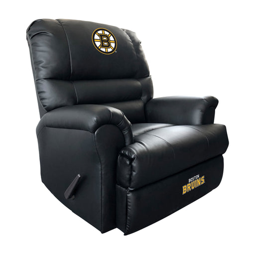 Boston Bruins Sports Recliner | Man Cave Authority | 803-8001
