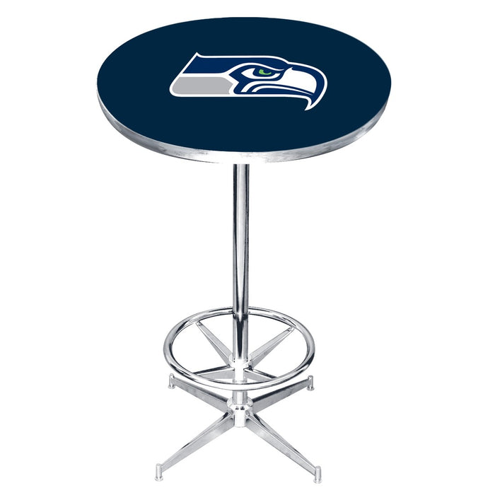 Seattle Seahawks Pub Table | Man Cave Authority | IMP 84-3024