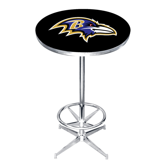 Baltimore Ravens Pub Table | Man Cave Authority | IMP 84-3025