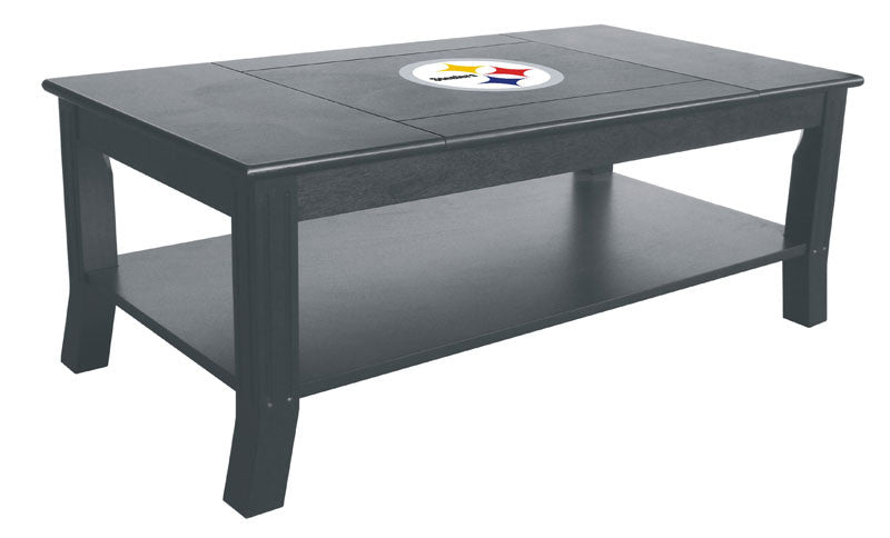 Pittsburgh Steelers Reversible Coffee Table | Man Cave Authority | IMP 85-1004