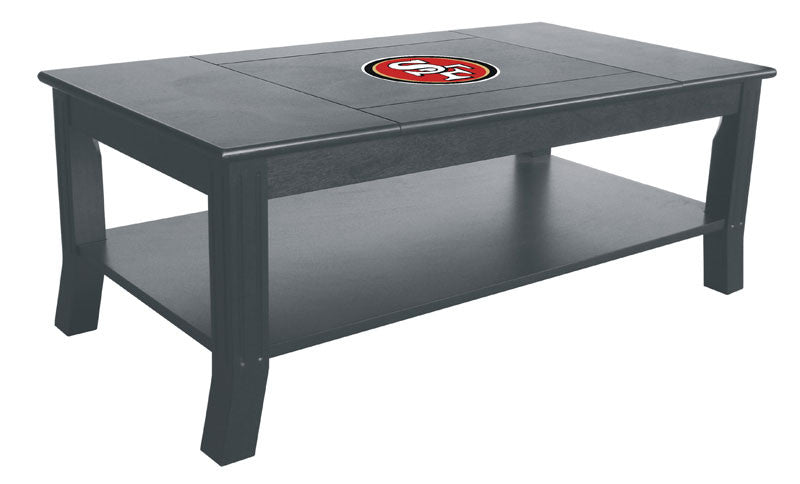 Ordinaire San Francisco 49ers Reversible Coffee Table | Man Cave Authority | IMP  85 1005