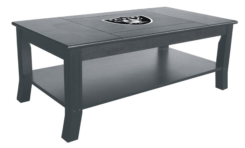 Oakland Raiders Reversible Coffee Table | Man Cave Authority | IMP 85-1010