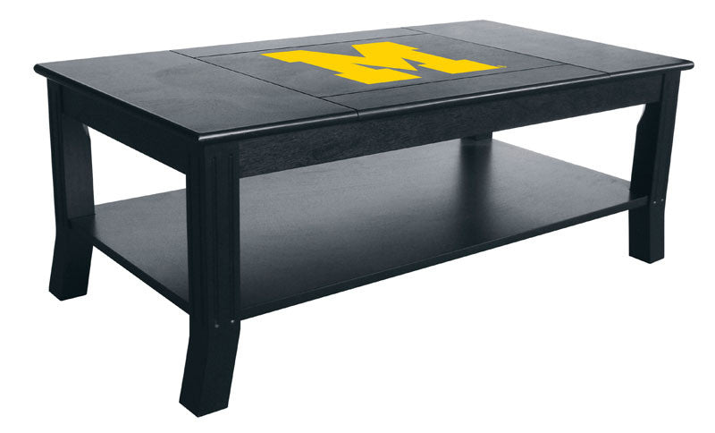 University Of Michigan Reversible Coffee Table | Man Cave Authority | IMP 85-3009