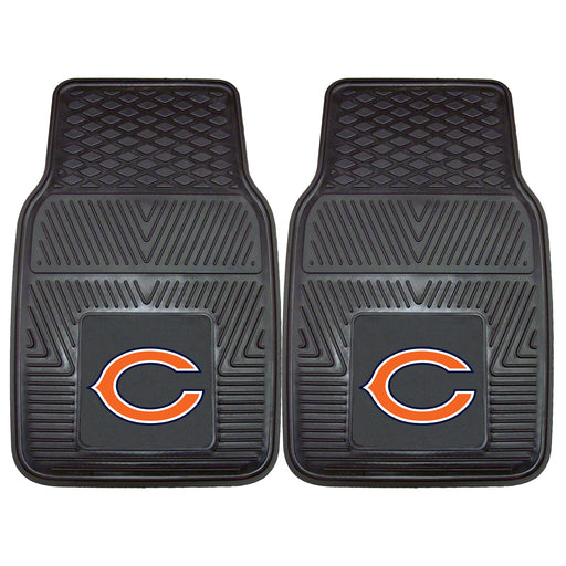 Chicago Bears 2-pc Vinyl Car Mat Set | Man Cave Authority | 8753