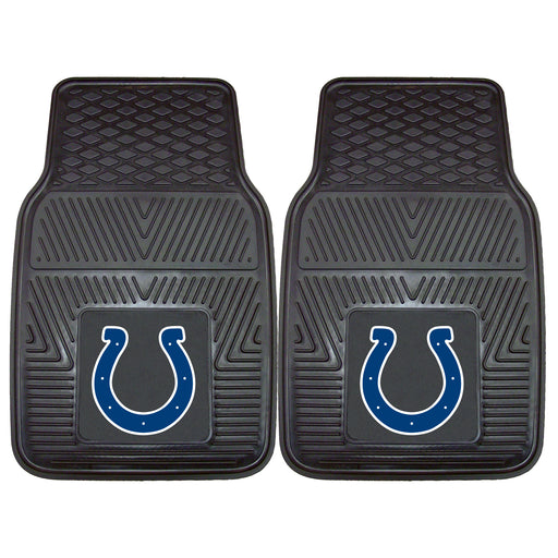 Indianapolis Colts 2-pc Vinyl Car Mat Set | Man Cave Authority | 8769