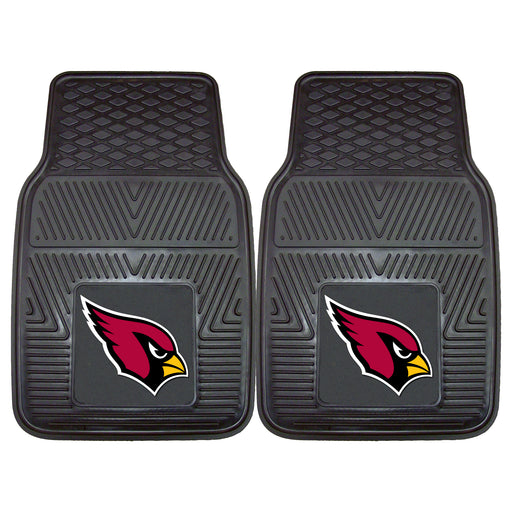 Arizona Cardinals 2-pc Vinyl Car Mat Set | Man Cave Authority | 8883