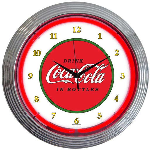 Coca-Cola 1910 Classic Neon Clock | Man Cave Authority | 8CCCLA