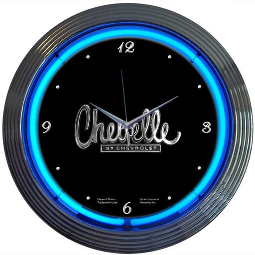 Chevelle Neon Clock | Man Cave Authority | 8CHEVEL