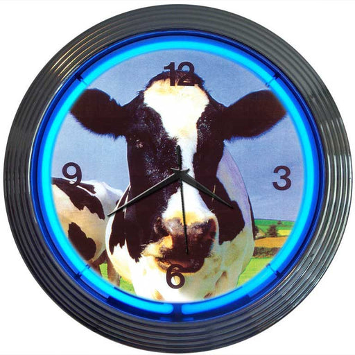 Cow Neon Clock | Man Cave Authority | 8COWXX