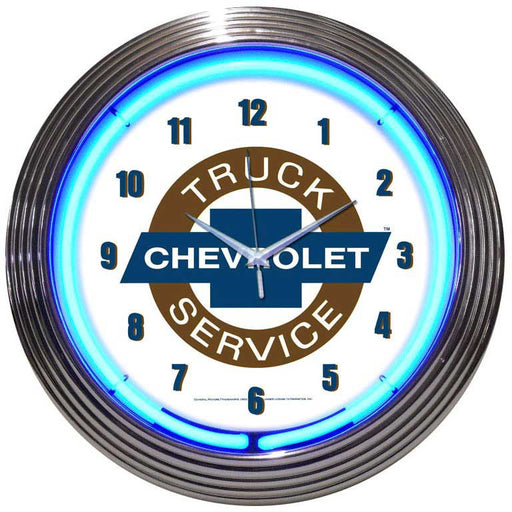 Chevy Truck Neon Clock | Man Cave Authority | 8TRUCK