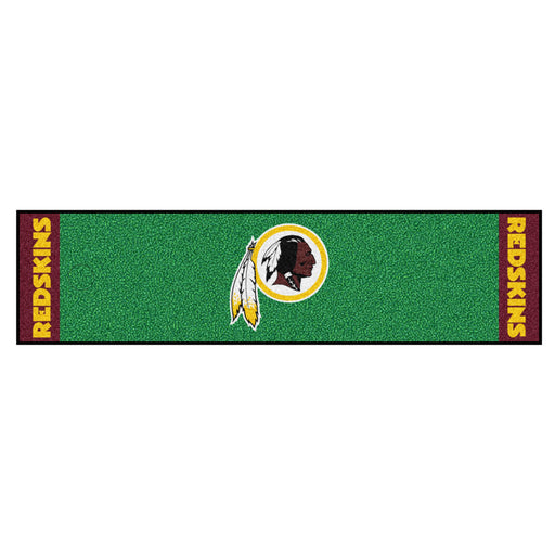 Washington Redskins Putting Green Mat | Man Cave Authority | 9033