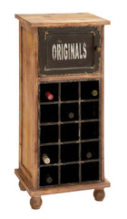 """Originals"" Vintage Wine Cabinet for 15 Bottles 