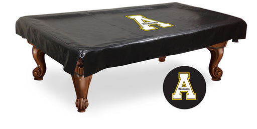 Appalachian State University Pool Table Cover | Man Cave Authority | BTCAppStU
