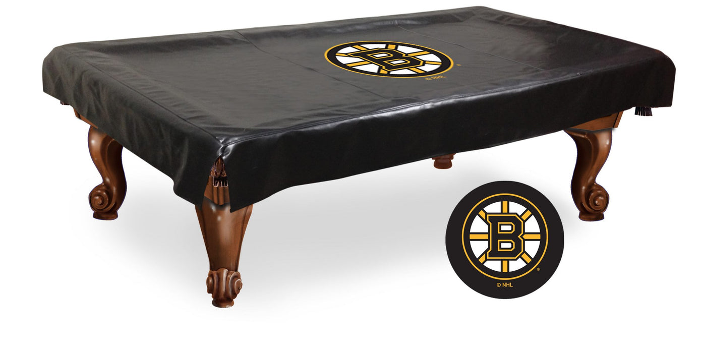 Boston Bruins Pool Table Cover | Man Cave Authority | BTCBosBru