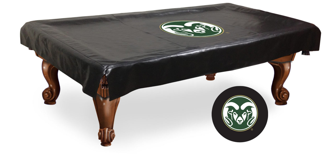Colorado State University Pool Table Cover | Man Cave Authority | BTCColoSt