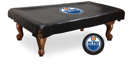 Edmonton Oilers Pool Table Cover | Man Cave Authority | BTCEdmOil