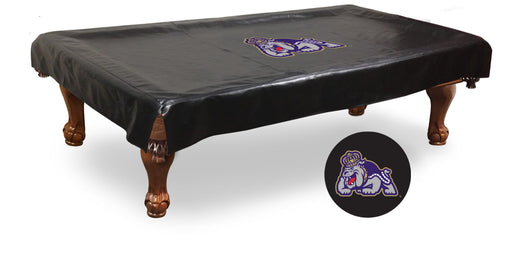 James Madison University Pool Table Cover | Man Cave Authority | BTCJmsMad