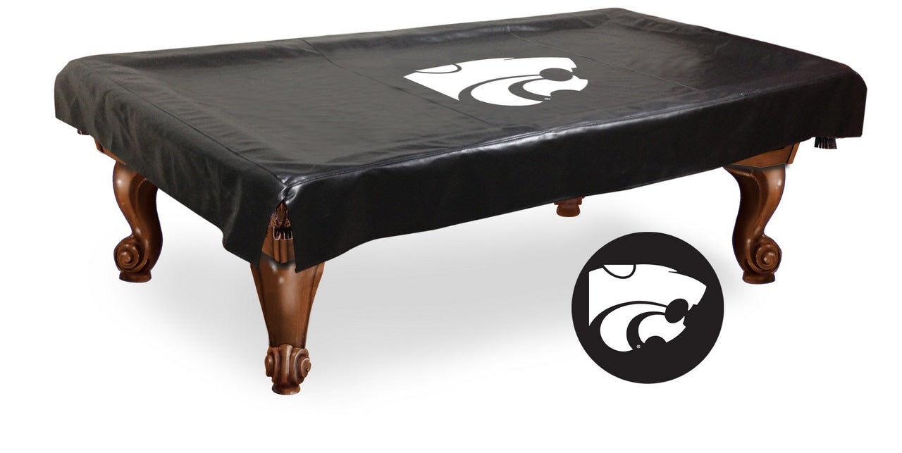 Kansas State University Pool Table Cover | Man Cave Authority | BTCKnsasS