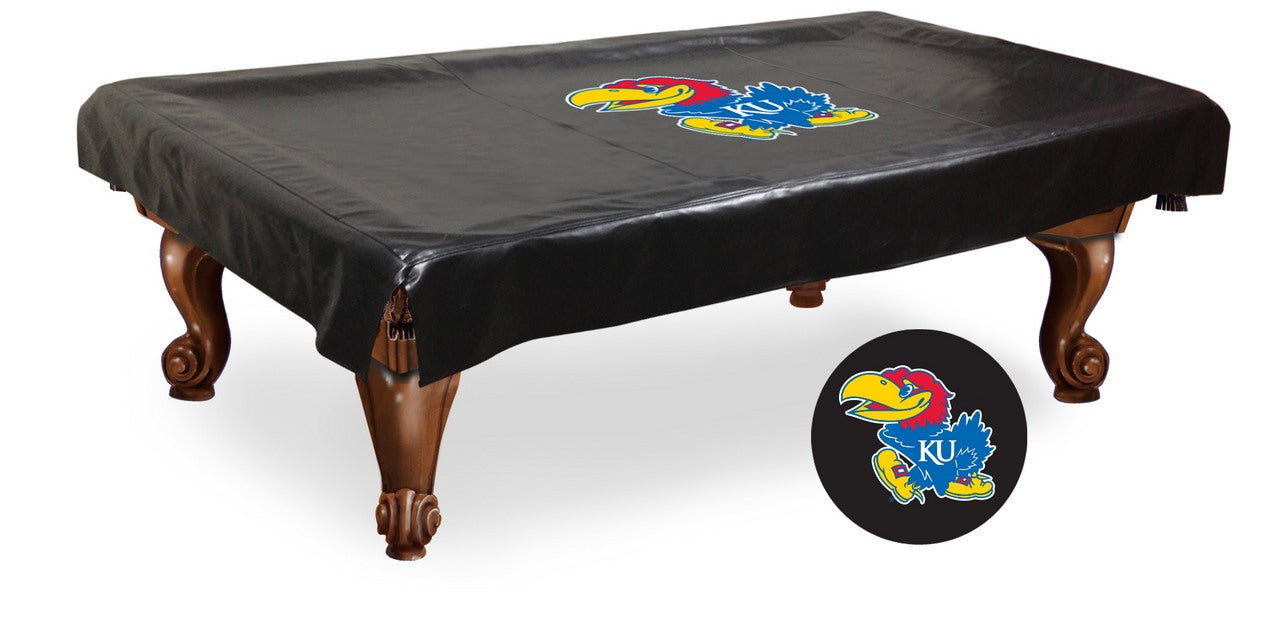University of Kansas Pool Table Cover | Man Cave Authority | BTCKnsasU