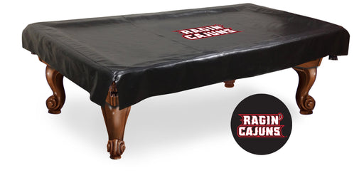 University of Louisianna at Lafayette Pool Table Cover | Man Cave Authority | BTCLA-Laf