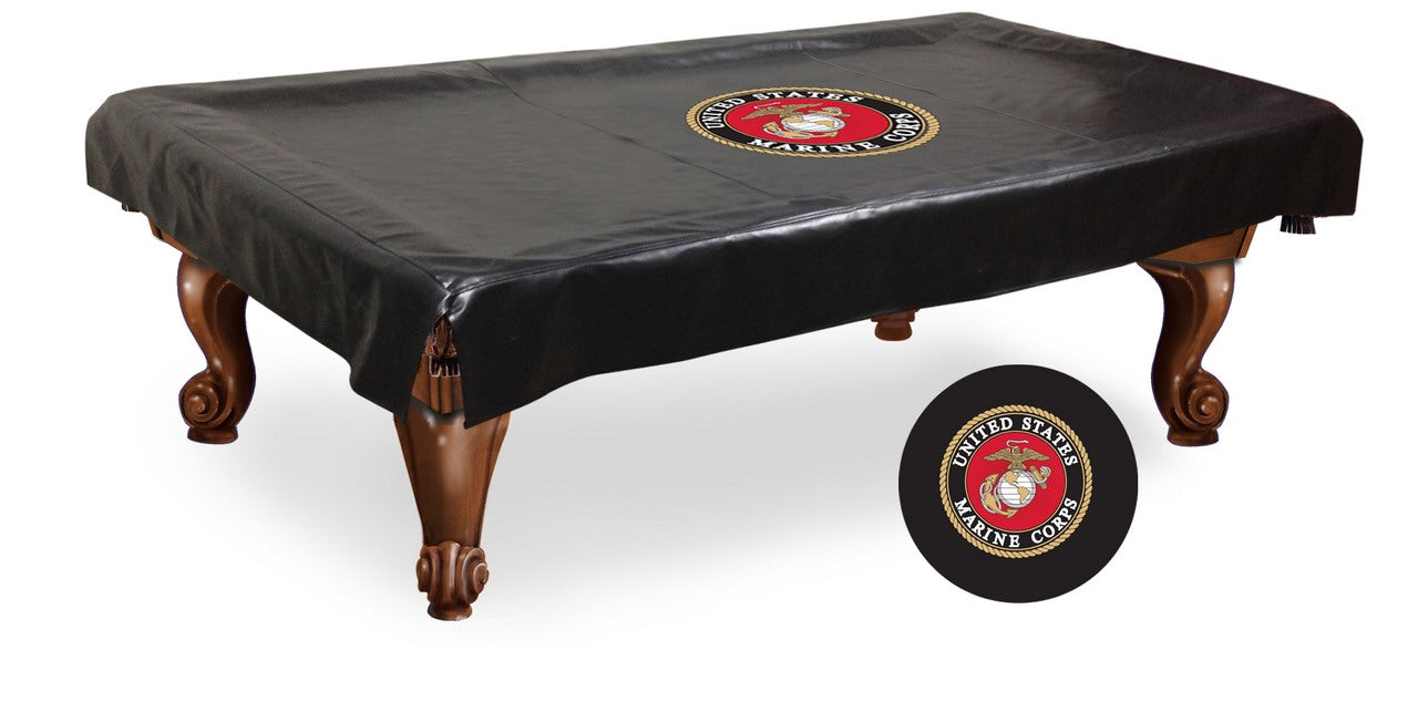United States Marine Corps Pool Table Cover | Man Cave Authority | BTCMarine