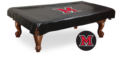 University of Miami (OH) Pool Table Cover | Man Cave Authority | BTCMia-OH