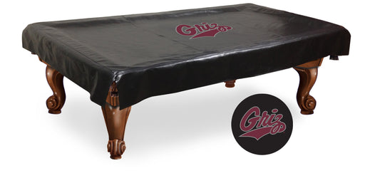 University of Montana Pool Table Cover | Man Cave Authority | BTCMontUn